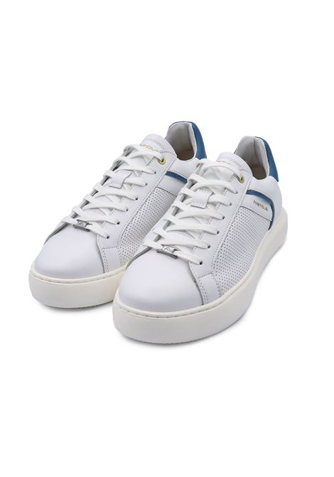 AMBITIOUS SNEAKERS 11521-5678AM WHITE/BLUE Ambitious | Sneakers | 11521WHITE/BLUE
