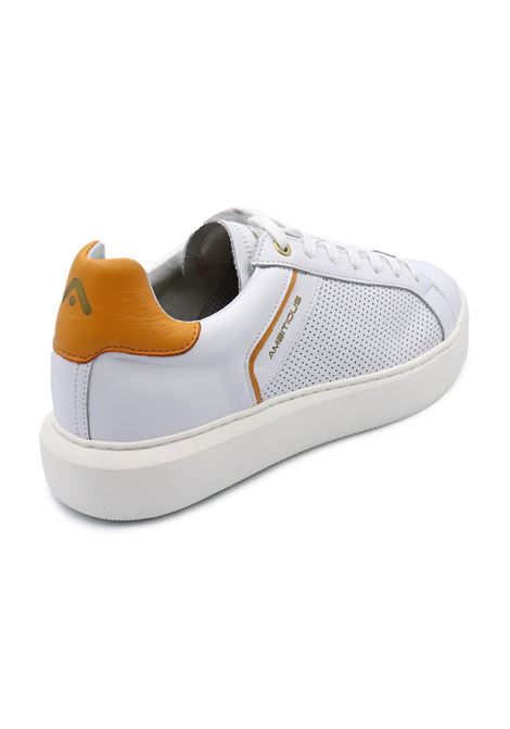 AMBITIOUS SNEAKERS 11521-4838AM WHITE/ORANGE Ambitious | Sneakers | 11521WHITE/ORANGE
