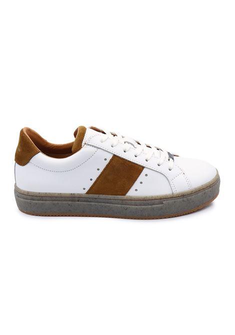 AMBITIOUS SNEAKERS 8448J-1490AM WHITE/COGNAC Ambitious | Sneakers | 8448JWHITE/COGNAC