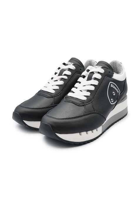 BLAUER SNEAKERS S1 CHARLOTTE 05/LEA BLACK Blauer | Sneakers | S1CHARLOTTE05/LEABLACK