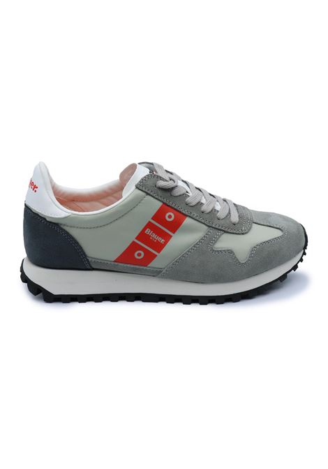 BLAUER SNEAKERS UOMO S1DAWSON01/NYS LIGHT GREY Blauer | Sneakers | S1DAWSON01/NYSLIGHT GREY