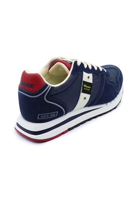 BLAUER SNEAKERS UOMO S1QUARTZ01/MES NAVY Blauer | Sneakers | S1QUARTZ01/MESNAVY