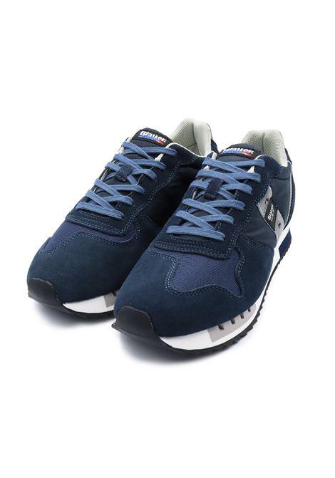 BLAUER SNEAKERS UOMO S1QUEENS01/MES NAVY Blauer | Sneakers | S1QUEENS01/MESNAVY