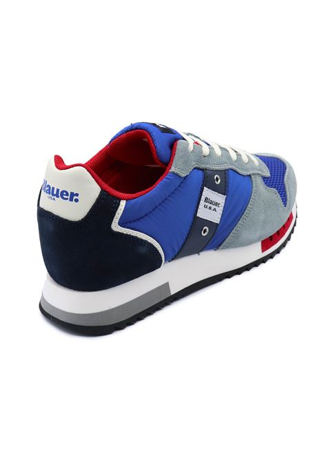 BLAUER SNEAKERS UOMO S1QUEENS01/STO ROYAL BLUE Blauer | Sneakers | S1QUEENS01/STOROYAL BLUE