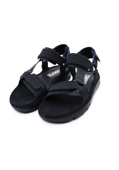 CAMPER SANDALI UOMO ORUGA K100416-005 BLACK Camper | Sandalo | K100416005