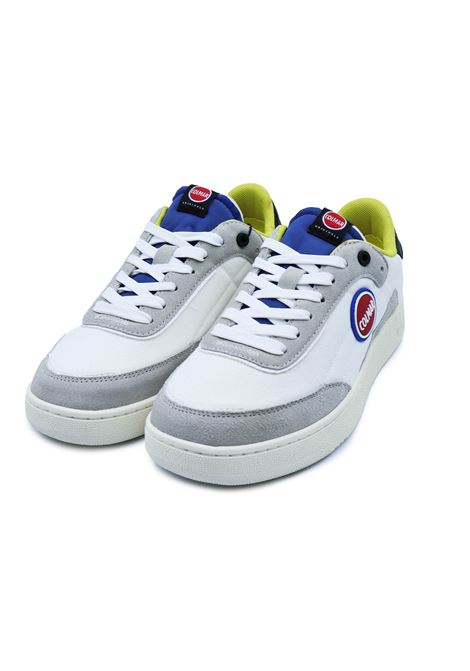 COLMAR SNEAKERS FOLEY RING 058 WHITE/BLUE/DUST YLIME Colmar | Sneakers | FOLEY RING058