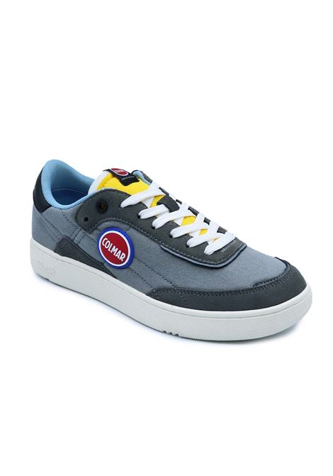 COLMAR SNEAKERS FOLEY RING 060 GRAY/YELLOW/LIGHT BLUE Colmar | Sneakers | FOLEY RING060