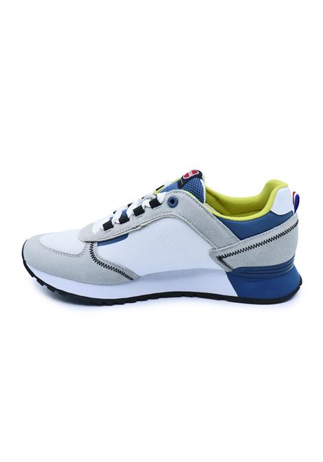 COLMAR SNEAKERS TRAVIS SPORT COLORS 037 WHITE/BLUE Colmar | Sneakers | TRAVIS SPORT COLORS037