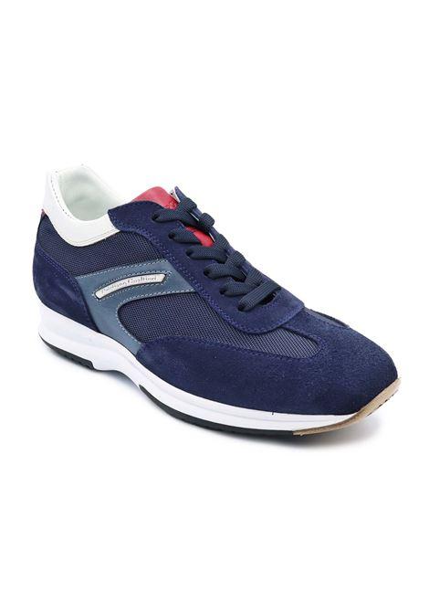 CRISTIANO GUALTIERI SNEAKERS 458E JEANS/ROSSO Gualtieri | Sneakers | 458EJEANS ROSSO