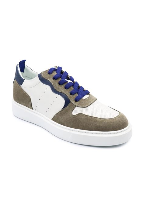 CRISTIANO GUALTIERI SNEAKERS K1 TAUPE-INDACO Gualtieri | Sneakers | K1TAUPE/INDACO