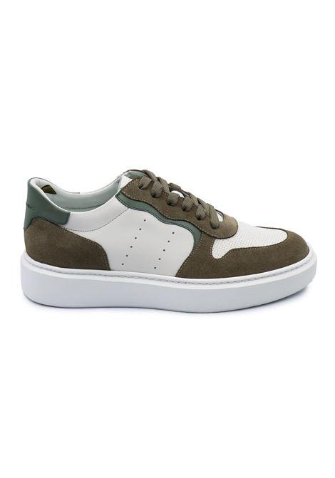 CRISTIANO GUALTIERI SNEAKERS K1 TAUPE MILITARE Gualtieri | Sneakers | K1TAUPE/MILITARE