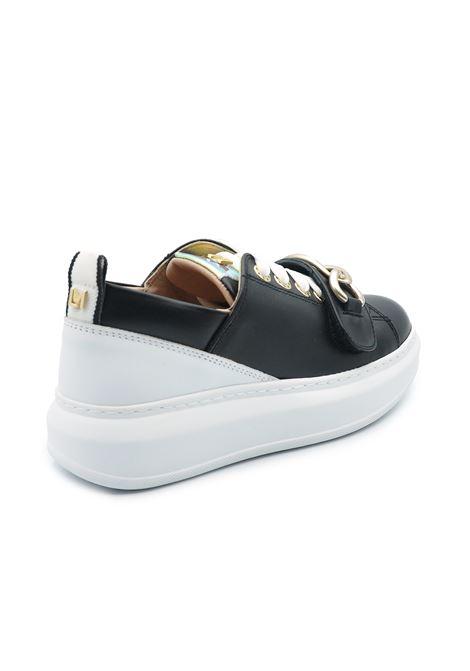 LORENZO MARI SNEAKERS LUCREZIA BLACK Lorenzo-Mari | Sneakers | LUCREZIAVITELLO NERO