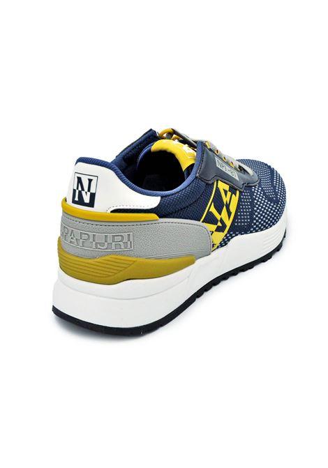 NAPAPIJRI SNEAKERS NP0A4FJX NAVY/YELLOW Napapijri | Sneakers | NP0A4FJXNAVY/YELLOW