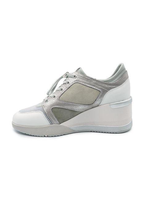 STONEFLY SNEAKERS 213911  69S ELLA WHITE/HI-RISE GRAY STONEFLY | Sneakers | 21391169S ELLA
