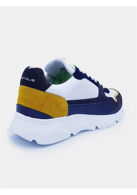 AMBITIOUS 10487 GREY NAVY SCARPE DA UOMO SPORTIVE Ambitious | Sneakers | 10487GREY NAVY