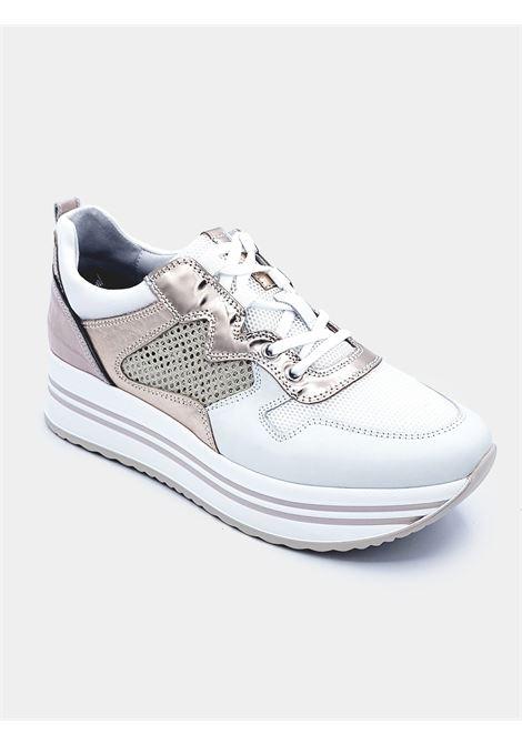 Sneakers Nero Giardini donna E010567D bianco PE20 Nero Giardini | Scarpa sportiva | E010567D707