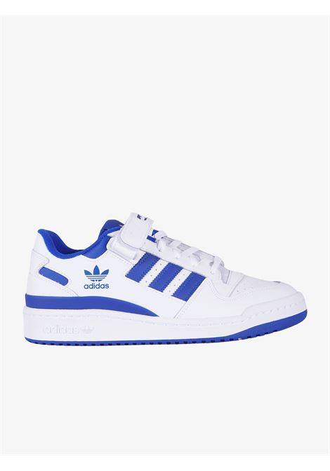 Men's Forum white sneakers ADIDAS | Sneakers | FY7756FTWWHT/FTWWHT/ROYBLU
