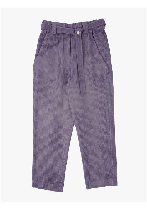 Pantaloni donna di velluto a coste ALYSI   Pantaloni   151105A1019MALVA