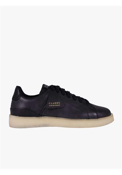 Black tennis shoe CLARKS   Casual Shoes   26162060BLACK LEATHER