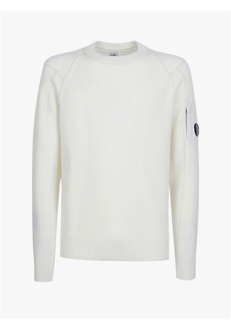 Man's crew-neck sweater in lambswool C.P. COMPANY      11CMKN087A005504A103