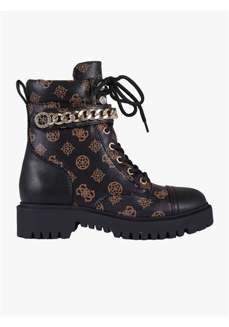 Women's black boots  GUESS | Boots | FL8ODYFAL10BROCR