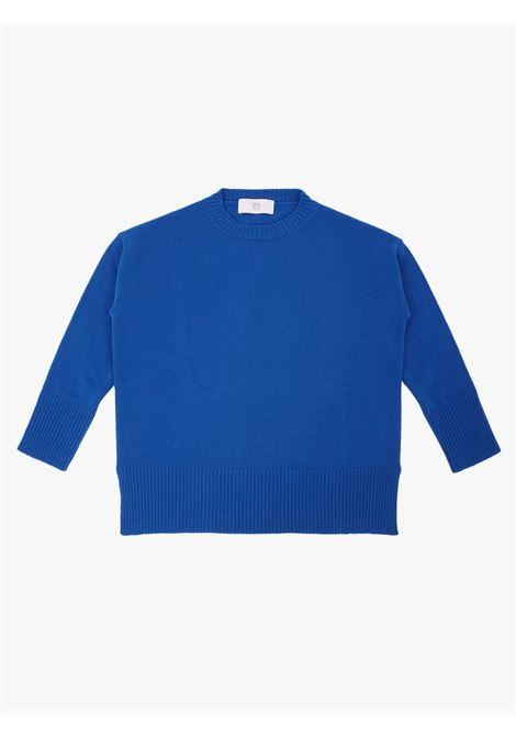 Maglione girocollo over blu intenso JUCCA   Maglieria   J3411310657