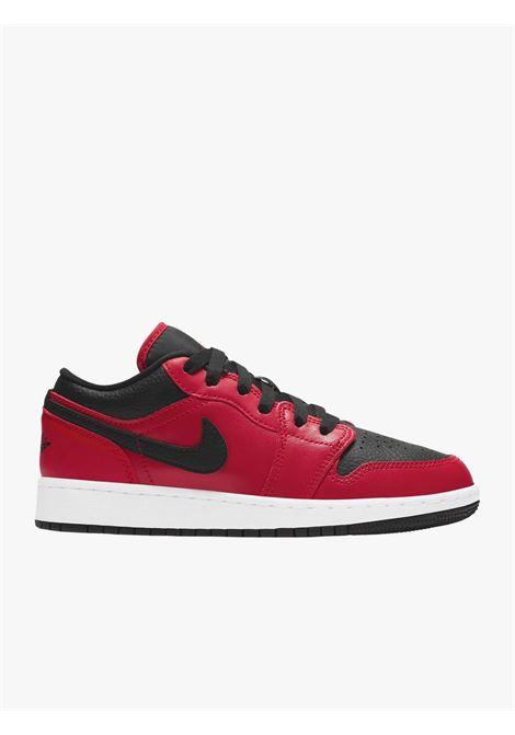 Red and black Air Jordan Low men's sneakers NIKE   Sneakers   553560-605