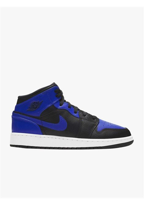 Men's sneakers Air Jordan 1 Mid Banned blue  NIKE | Sneakers | 554725-077