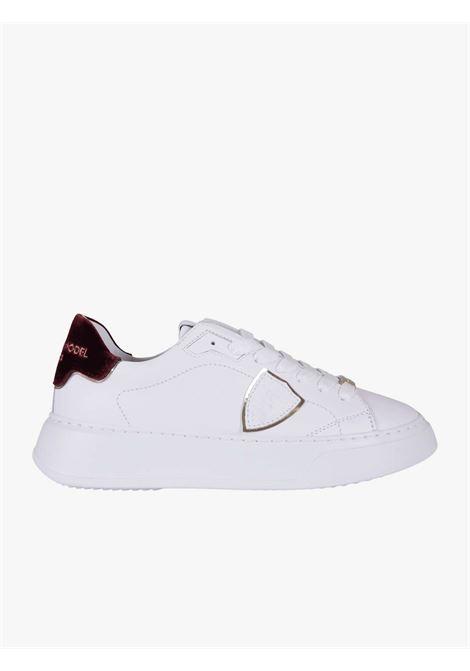 Sneakers donna bianche PHILIPPE MODEL | Scarpe basse | A11EBTLDXE02