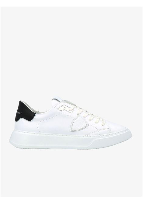 Sneakers uomo nere PHILIPPE MODEL | Scarpe basse | A11EBTLUV007