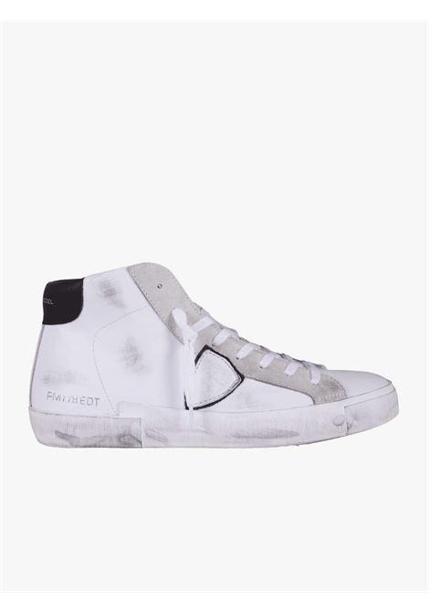 Sneakers bianche uomo PHILIPPE MODEL   Scarpe basse   A11EPRHUV020