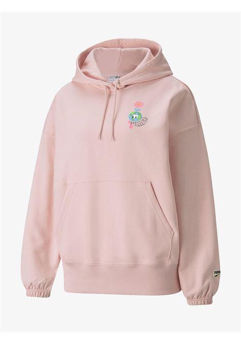 Women's Hoodie Pink PUMA | Sweatshirts | 531674_36