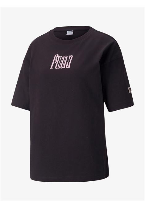 Black women's t-shirt PUMA   T-shirts   531679_01