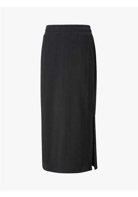 Women's long skirt Her black PUMA   Skirts   589524_01