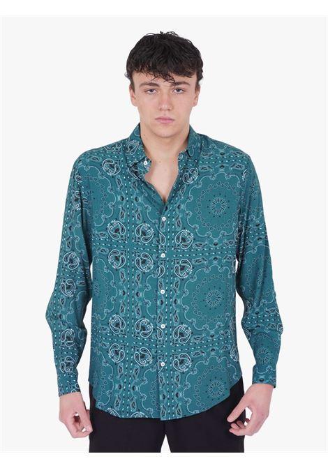 C93 | Shirts | C93-8038C313PETROLIO
