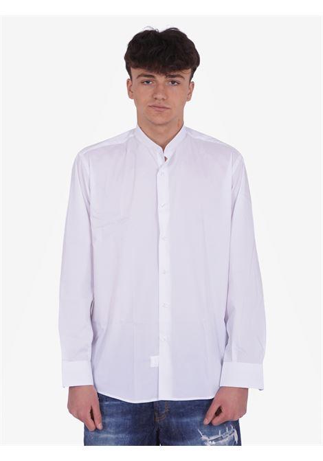 Camicia colletto alla coreana COSTUMEIN | Camicie | C17AGASTABIANCO