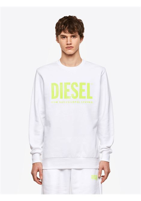 Cotton sweatshirt with logo DIESEL   Sweatshirts   00SWFH0BAWT100A