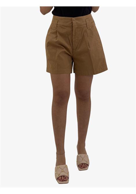 Guia loose bermuda in cotton gabardine DONDUP | Shorts | DP566GSE046PTDDD012