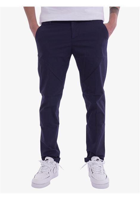 Pantalone slim in raso DONDUP   Pantaloni   UP235PS0005UDU866