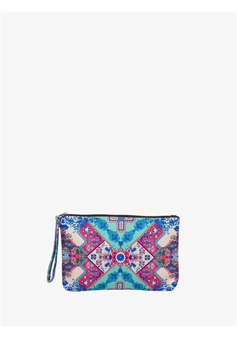 Venture mini clutch bag F**K | Pochette | F21-A0024UVERDE
