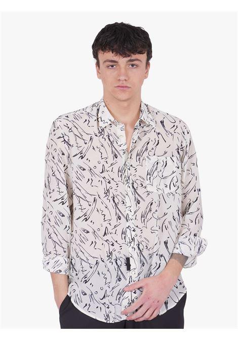 Camicia con fantasia GRIFONI   Camicie   GI120022/191902