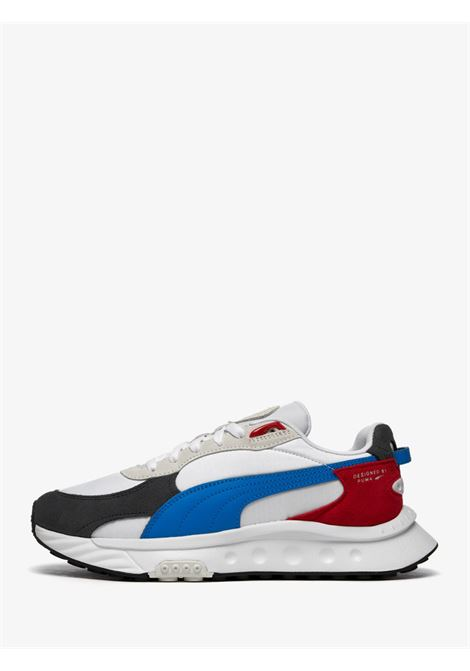 Sneakers with suede leather upholstery PUMA | Sneakers | 381517_04