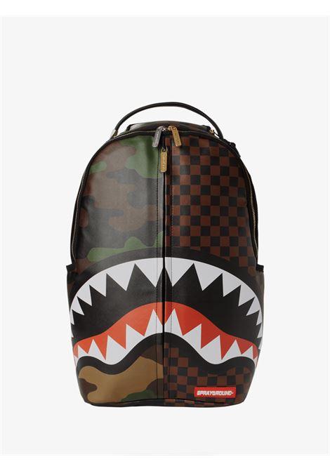 JUNGLE PARIS BACKPACK SPRAYGROUND | Backpacks | 910B3156SS21NARRONE/CAMOUFLAGE