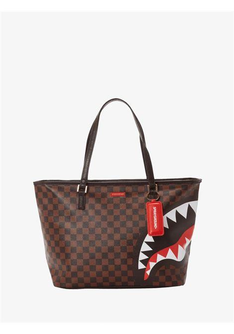 CHECKS IN CAMOFLAUGE TOTE SPRAYGROUND   Bags   910T3581NSZCHECKS & CAMO TOTE