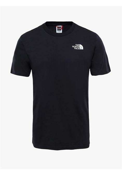 T-shirt nera con logo anteriore bianco THE NORTH FACE | T-shirt | NF0A2TX5JK31