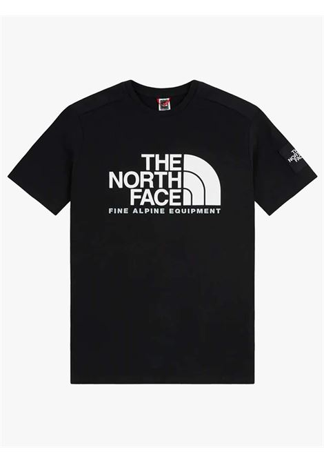 Basic black men's T-shirt with maxi logo THE NORTH FACE | T-shirts | NF0A4M6NJK31