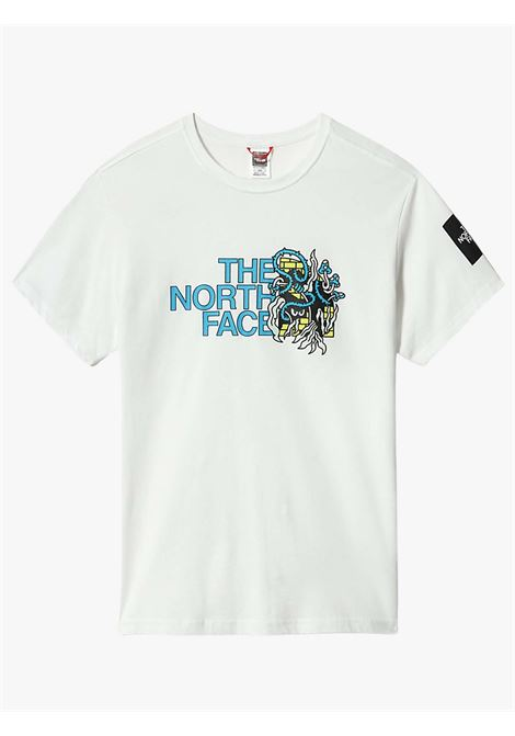 METRO EX T-SHIRT CON GRAFICA UOMO THE NORTH FACE   T-shirt   NF0A557LFN41