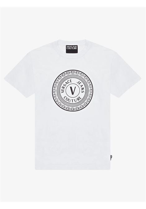 VERSACE JEANS COUTURE   T-shirts   B3GWA7TD30319003