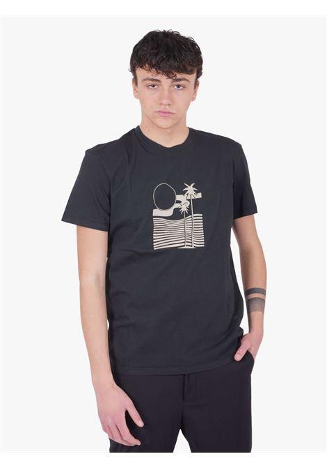 T-shirt  WHITE OVER   T-shirts   TS/00103NERO