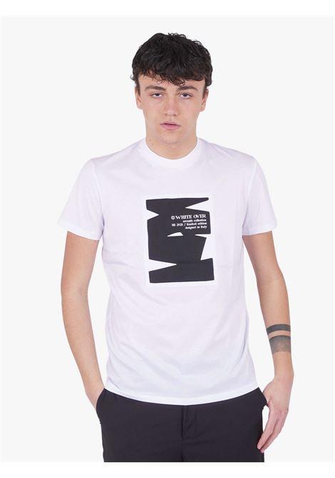 T-shirt  WHITE OVER | T-shirts | TS/00112BIANCO